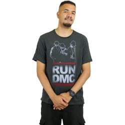 Amplified T-Shirt Run DMC Silhouette dunkelgrau