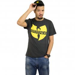 Amplified T-Shirt Wu Tang Logo charcoal