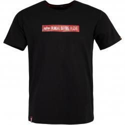 Alpha Industries RBF Latex Print Herren T-Shirt schwarz
