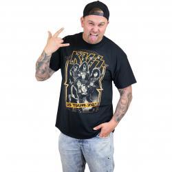 Bravado T-Shirt Kiss US Tour schwarz