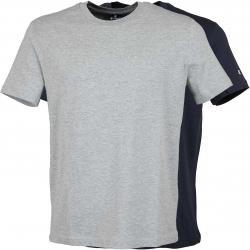 Champion T-Shirt 2er Pack grau/dunkelblau