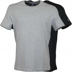 Champion T-Shirt 2er Pack grau/schwarz