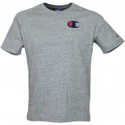 Champion T-Shirt Script Logo grau