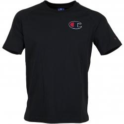 Champion T-Shirt Script Logo schwarz