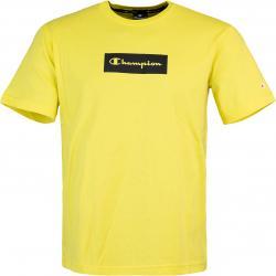 Champion American Logo T-Shirt gelb