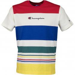 Champion T-Shirt Logo mehrfarbig