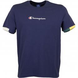 Champion T-Shirt Ringer dunkelblau