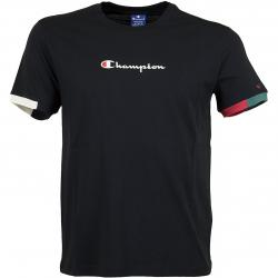 Champion T-Shirt Ringer schwarz