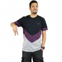 Cleptomanicx T-Shirt Downer schwarz/lila