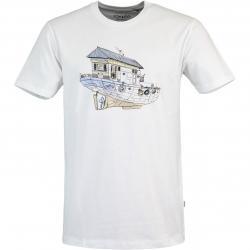 Cleptomanicx Dreamhome Herren T-Shirt weiß