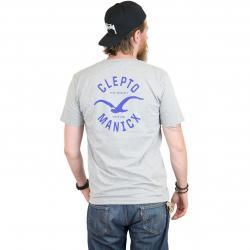 Cleptomanicx T-Shirt Game grau/blau