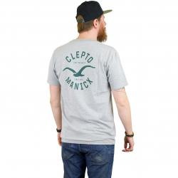 Cleptomanicx T-Shirt Game grau