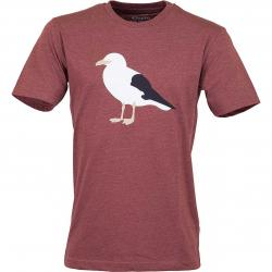 Cleptomanicx T-Shirt Gull 3 rot