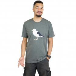 Cleptomanicx T-Shirt Gull 3 oliv