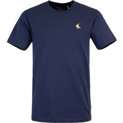 Cleptomanicx Gull Rider Herren T-Shirt navy
