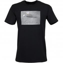 Cleptomanicx T-Shirt Moon Gull schwarz