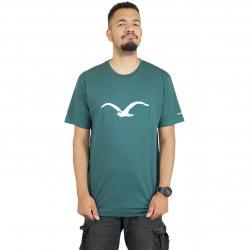 Cleptomanicx T-Shirt Mowe bot. grün