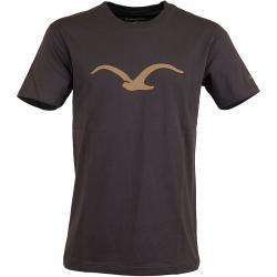 Cleptomanicx T-Shirt Mowe braun