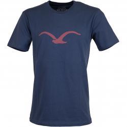 Cleptomanicx T-Shirt Mowe dunkelblau