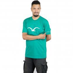 Cleptomanicx T-Shirt Mowe pep. grün