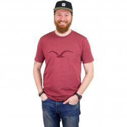 Cleptomanicx T-Shirt Mowe Tonal rot