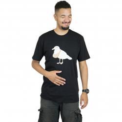Cleptomanicx T-Shirt Toast Gull schwarz