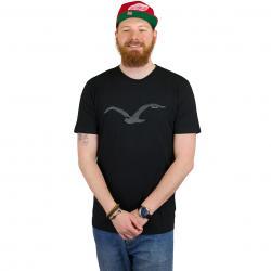 Cleptomanicx T-Shirt Two Mowe schwarz