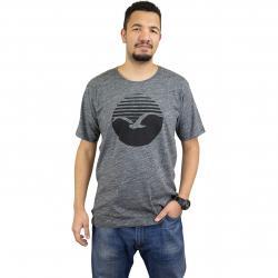 Cleptomanicx T-Shirt Vintage Print v. schwarz