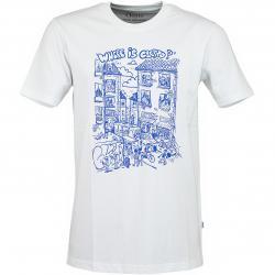 Cleptomanicx T-Shirt Where Is... weiß
