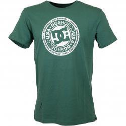 DC Shoes T-Shirt Circle Star hunter grün
