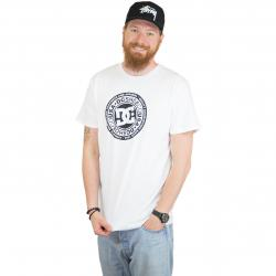 DC Shoes T-Shirt Circle Star weiß