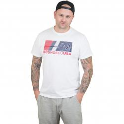 DC Shoes T-Shirt High Value snow weiß