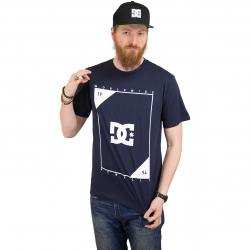 DC Shoes T-Shirt Middle Theory dunkelblau