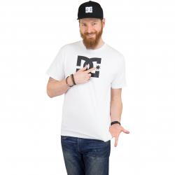 DC Shoes T-Shirt Star snow weiß