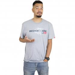 DC Shoes T-Shirt Strip Box grau
