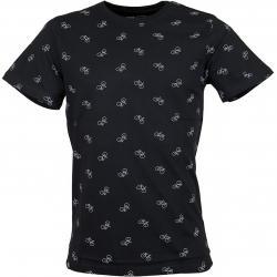 Dedicated T-Shirt Bike Pattern schwarz