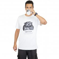 Dedicated T-Shirt Caffeine Kick weiß