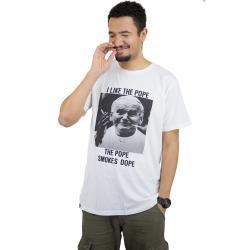 Dedicated T-Shirt Dope Pope weiß