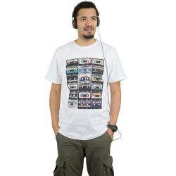Dedicated T-Shirt Multi Tapes weiß