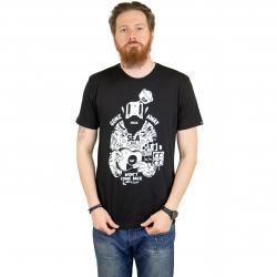 The Dudes T-Shirt Captain schwarz