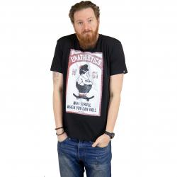 The Dudes T-Shirt Fat Boy schwarz