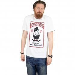 The Dudes T-Shirt Fat Boy weiß