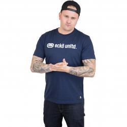 Ecko Unltd. T-Shirt High Line dunkelblau