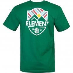 T-Shirt Element Beaming grün