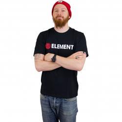 Element T-Shirt Blazin flint schwarz