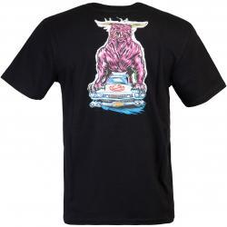 T-Shirt Element Crushed schwarz