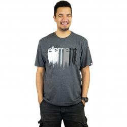 Element T-Shirt Drip charcoal