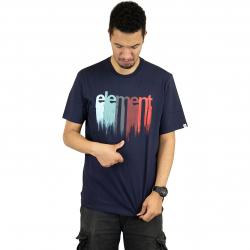 Element T-Shirt Drip dunkelblau