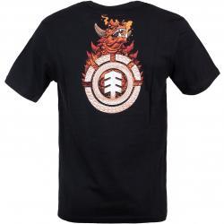 Element T-Shirt Florian schwarz