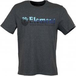 Element T-Shirt Glimpse Horizontal dunkelgrau